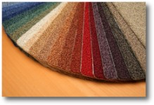 Carling Contracts - carpet samples